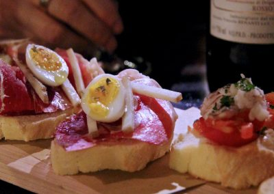 Gourmet crostini - the Venetian Vine