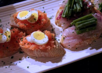 Gourmet Crostini to pair